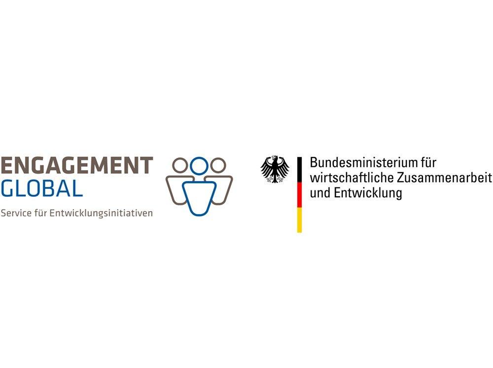 Engagement Global und BMWZE Logo
