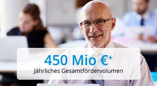 PROANDI 450 Mio Fördervolumen pro Jahr